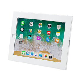 【訳あり 新品】iPad用壁面取付けケース(iPad Air/Air2、9.7インチiPad Pro、9.7インチiPad 2017・角度調整機) CR-LASTIP26W サンワサプライ ※箱にキズ、汚れあり