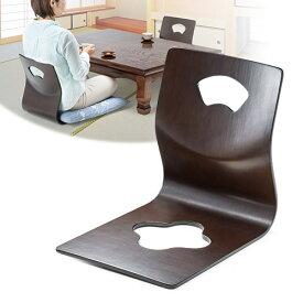 和座椅子 和風 天然木 曲木 スタッキング 座敷 こたつ EEX-CH34