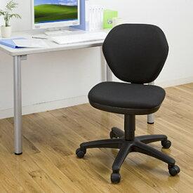シンプルで安価なオフィスチェア(ブラック) EED-SNC025BK