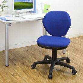 シンプルで安価なオフィスチェア(ブルー) EED-SNC025BL
