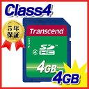 Transcend(トランセンド・ジャパン)SDHCカード(4GB・class4)【ネコポス対応】