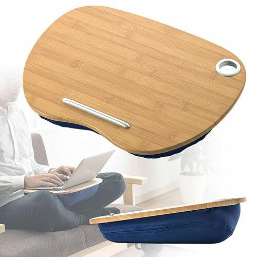 クッションテーブル 膝上 ラップトップ ノートPC タブレット 読書 車ベッド 食卓 EEX-KOT03