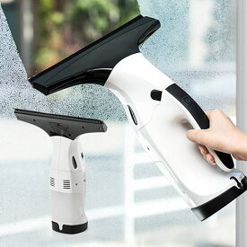 ガラスクリーナー 電動 窓 バキューム 結露 カビ対策 コードレス ウインドウ 充電式 掃除機 EEX-CD015