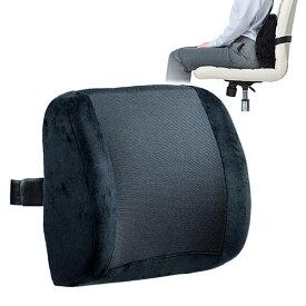 背もたれ クッション シートクッション 椅子 車 低反発 メッシュ 通気性 姿勢 腰痛 EEX-CHC05