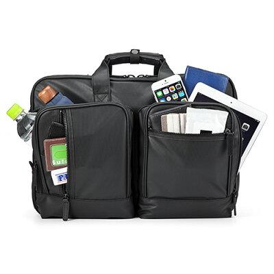 3WAYビジネスバッグ(耐水素材・大容量25L・通勤・2〜3日出張対応・A4書類収納)