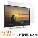 液晶テレビ保護パネル(42/43インチ対応・アクリル製)【送料無料】
