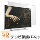 液晶テレビ保護パネル(50インチ対応・アクリル製)【送料無料】