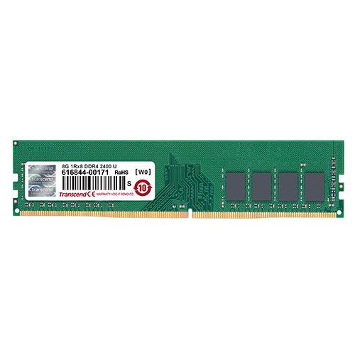 デスクトップ用メモリ 8GB DDR4-2400 PC4-19200 U-DIMM トランセンド JM2400HLB-8G【ネコポス対応】
