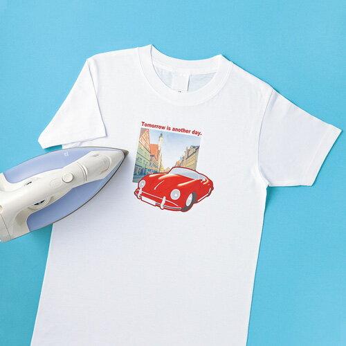 インクジェット用アイロンプリント紙(白・淡色布用) JP-TPR8 サンワサプライ【ネコポス対応】