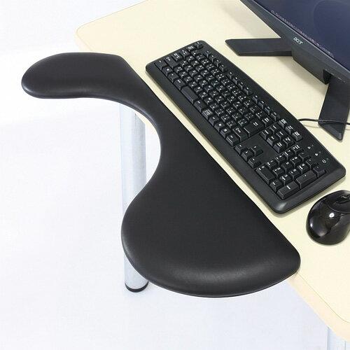 【訳あり 新品】アームレスト(デスク用・エルゴノミクス・肘置き・クランプ式・リラックス) MR-TOKERG2N サンワサプライ ※箱にキズ、汚れあり
