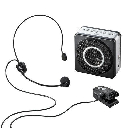 ワイヤレスポータブル拡声器 MM-SPAMP5 サンワサプライ【送料無料】