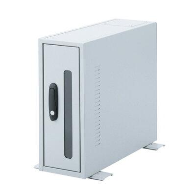 CPUボックス(防塵・簡易・鍵付き・小型・W260×D500mm)【配達時間指定不可】【代引き不可商品】