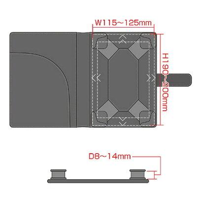 f014079e55 楽天市場】【訳あり 在庫処分】タブレット 7型 マルチサイズケース PDA ...