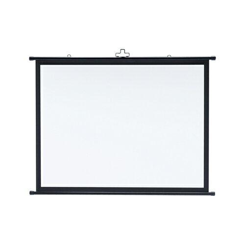 【訳あり 新品】プロジェクタースクリーン壁掛け式(アスペクト比4:3・50型相当) ※箱にキズ、汚れあり PRS-KB50 サンワサプライ【送料無料】