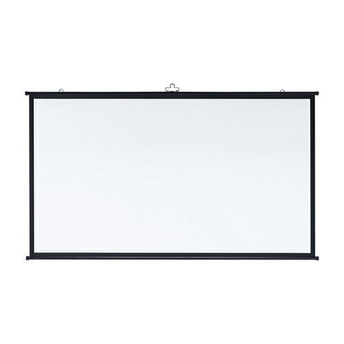 【訳あり 新品】プロジェクタースクリーン壁掛け式(アスペクト比16:9・80型相当) ※箱にキズ、汚れあり PRS-KBHD80 サンワサプライ【送料無料】