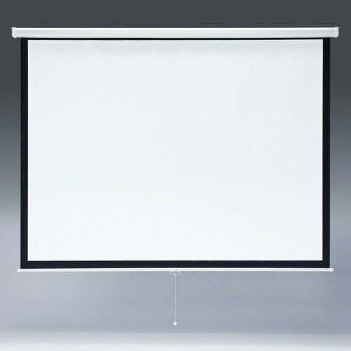 【訳あり 新品】プロジェクタースクリーン(103型・吊り下げ式) ※箱にキズ、汚れあり PRS-TS103 サンワサプライ【送料無料】