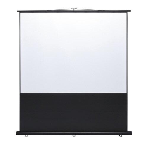 【訳あり 新品】プロジェクタースクリーン(床置き式・100インチ・4:3) サンワサプライ PRS-Y100K サンワサプライ【送料無料】