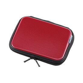 【訳あり 在庫処分】電子辞書ケース(衝撃吸収ハードタイプ・レッド) PDA-EDC30R サンワサプライ