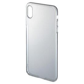 【訳あり 在庫処分】iPhone XS Maxクリアケース (ハード) PDA-IPH023CL サンワサプライ