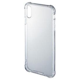 【訳あり 在庫処分】iPhone XS Max 耐衝撃ケース PDA-IPH024CL サンワサプライ