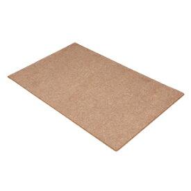 床の傷つき防止、フローリングの室内用大型OAチェアマット(ブラウン) SNC-MAT2BR サンワサプライ