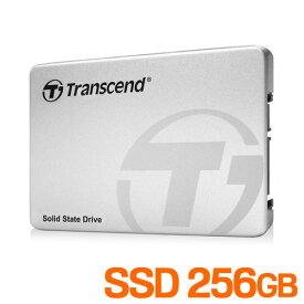 SSD 256GB SATA-III 6Gb/s MLC NANDフラッシュメモリ 2.5インチ 内蔵 トランセンド TS256GSSD370S