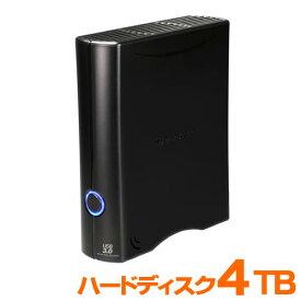 ハードディスク 4TB HDD USB3.0対応 外付け 据置 トランセンド TS4TSJ35T3