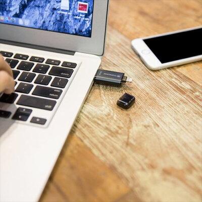 Tracnscend_Lightning・USBメモリ_64GB_JetDrive_Go_300_USB3.1対応_TS64GJDG300K