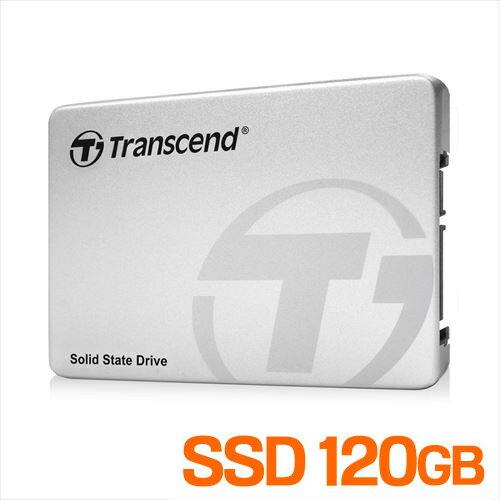 Transcend SATA-III 6Gb/s 2.5インチ SSD 120GB TS120GSSD220S【送料無料】