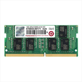 Transcend ノートPC用増設メモリ 16GB DDR4-2133 PC4-17000 SO-DIMM TS2GSH64V1B
