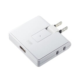 USB充電ポート付きモバイルタップ 2P 2個口+USB1ポート 雷ガード TAP-B104U サンワサプライ