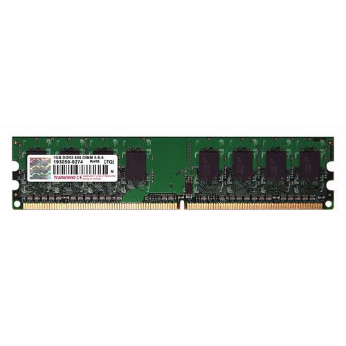 Transcend 増設メモリ 1GB DDR2-800 PC2-6400 DIMM TS128MLQ64V8U【ネコポス対応】