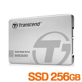 SSD 256GB SATAIII 2.5インチ 内蔵 トランセンドTS256GSSD230S
