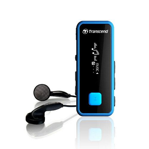Transcend(トランセンド) MP3プレーヤー T.sonic 350 8GB(耐衝撃・防滴・FMラジオ搭載・ブルー) TS8GMP350B【送料無料】