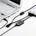 IDE/SATA-USB変換ケーブル(0.65m) サンワサプライ USB-CVIDE2N サンワサプライ【送料無料】