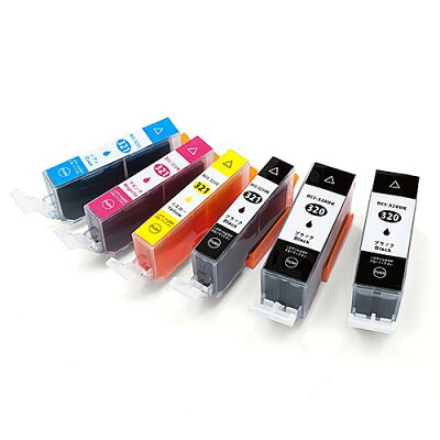 キヤノン(CANON)_BCI-321+320/5MP_互換インク_5色パック+1色(BCI-320PGBK互換)