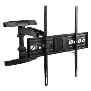 テレビ壁掛け 金具 液晶テレビ壁掛け ダブルアームタイプ 汎用 42〜80インチ対応 角度 前後 左右調節対応 EZ1-PL006
