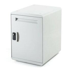 宅配ボックス 個人 戸建用 簡単設置 50リットル 金属筐体 ネコポス便対応 300-DLBOX009