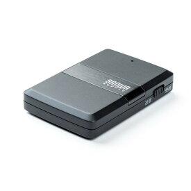 Bluetoothオーディオレシーバー&トランスミッター(2台同時接続・送受信・apt-X Low Latency対応) EZ4-BTAD006