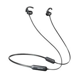 Bluetoothイヤホン(ネックバンドタイプ・IPX5・ランニング・ウォーキング・軽量・通話対応) EZ4-BTSH011BK