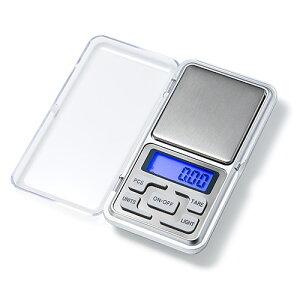 デジタルポケットスケール(デジタルはかり・キッチンスケール・0.01〜500g・LEDライト付・電池式) EZ4-TST008