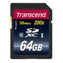 Transcend(トランセンド・ジャパン) Ultimate SDXCメモリカード(64GB・class10)【ネコポス対応】