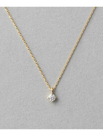 K18 ダイヤモンド ネックレス「ブライト」 ete エテ アクセサリー ネックレス イエロー ゴールド【送料無料】[Rakuten Fashion]