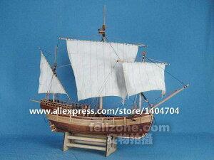 ★イタリア クラシック 木製 帆船 スケール 1/50 コロンブス 貿易商人 pinta 船 木製 模型キット★