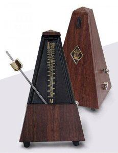 メトロノーム 振り子 メカニカル ウッドカラー アクセサリー 練習 ギター 吹奏楽