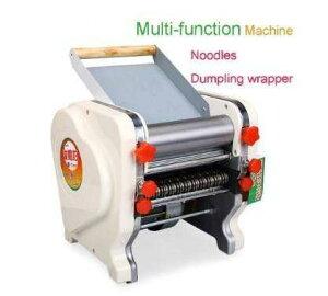 正規品 電気麺プレス ステンレス鋼製麺機 幅選択可能 160mm 180mm 200mm 業務用 簡単操作