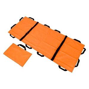 ポータブルソフトストレッチャー 簡易担架 折りたたみ式 超軽量 防水 滑り止め 移動用シート ホームストレッチャー