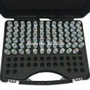 ピンゲージセットφ0.3からφ10.0の0.1mmとび98本セット。マシニング フライス 旋盤加工の穴径検査