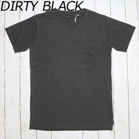 BANKS バンクス STAPLE Tシャツ DIRTY BLACK (ダーティーブラック) 春夏新作 メンズファッション クルーネック 半袖 無地 胸ポケット カジュアル サーフ ロンハーマン tcss