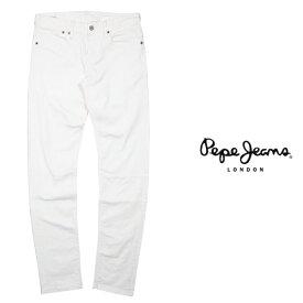 Pepe Jeans LONDON ぺぺジーンズロンドン HATCH デニムパンツ WHITE (ホワイト) 新作 メンズファッション ストレッチ スキニーデニム